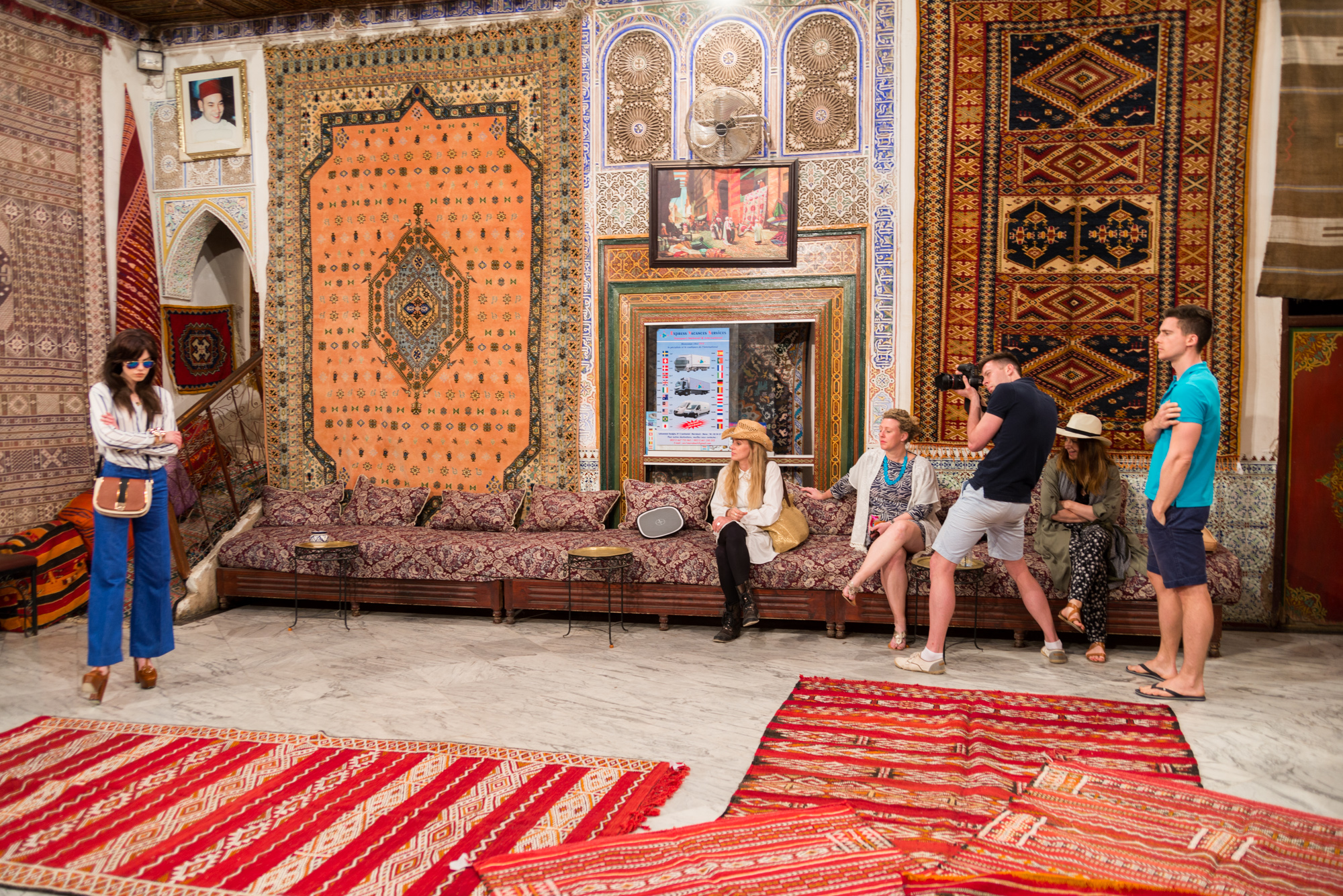 Behind the Scenes of Irish Country Magazine's Photo Shoot in Marrakech, Morocco