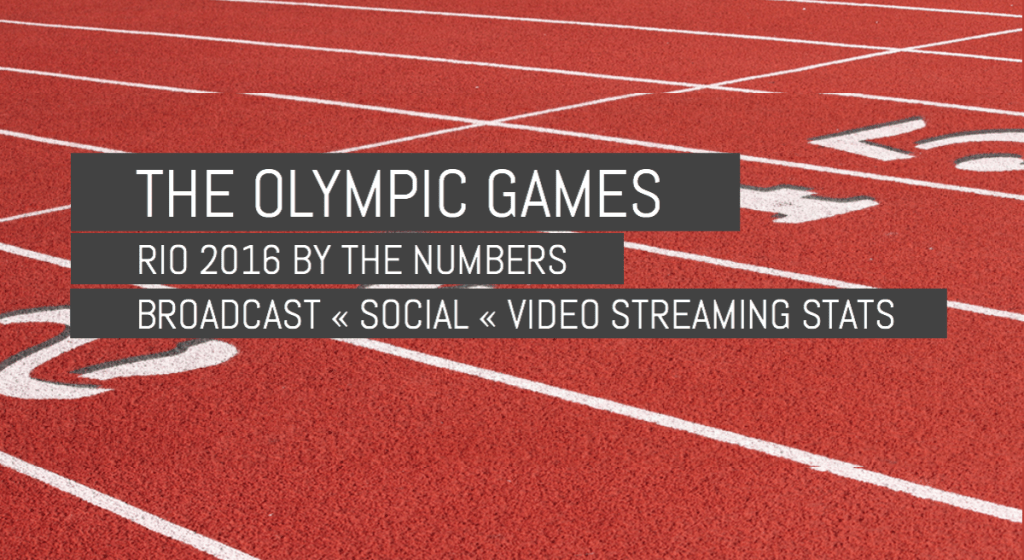 The Olympics Games: Rio 2016 by the Numbers